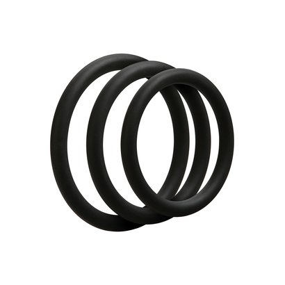 SET DI REGALO OPTIMALE 3 C-RING SET THIN NERO