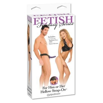 STRAP-ON FF HOLLOW  - PURPLE