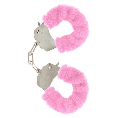 MANETTE FURRY FUN CUFFS PINK FELPATO