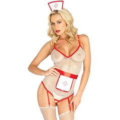 3Pc. Nurse Roleplay Set - BIANCO